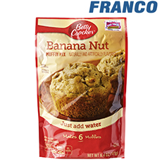 BETTY CROCKER BANANA MUFFIN MIX X181GR