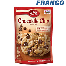 BETTY CROCKER CHOCOLATE CHIP X 496GR