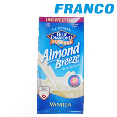 BLUE DIAMOND ALMOND VAINILLA30CALORIASX946ML