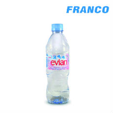 EVIAN AGUA NATURAL DE MANANTIAL X500ML