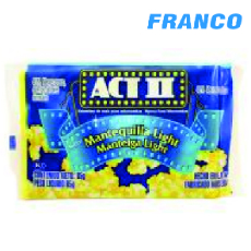 ACT II POP CORN S / MANTEQUILLA LIGERO X 85 GR
