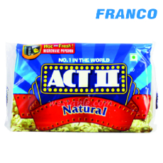 ACT II POP CORN P / MICROONDAS S / NATURAL X91 GR
