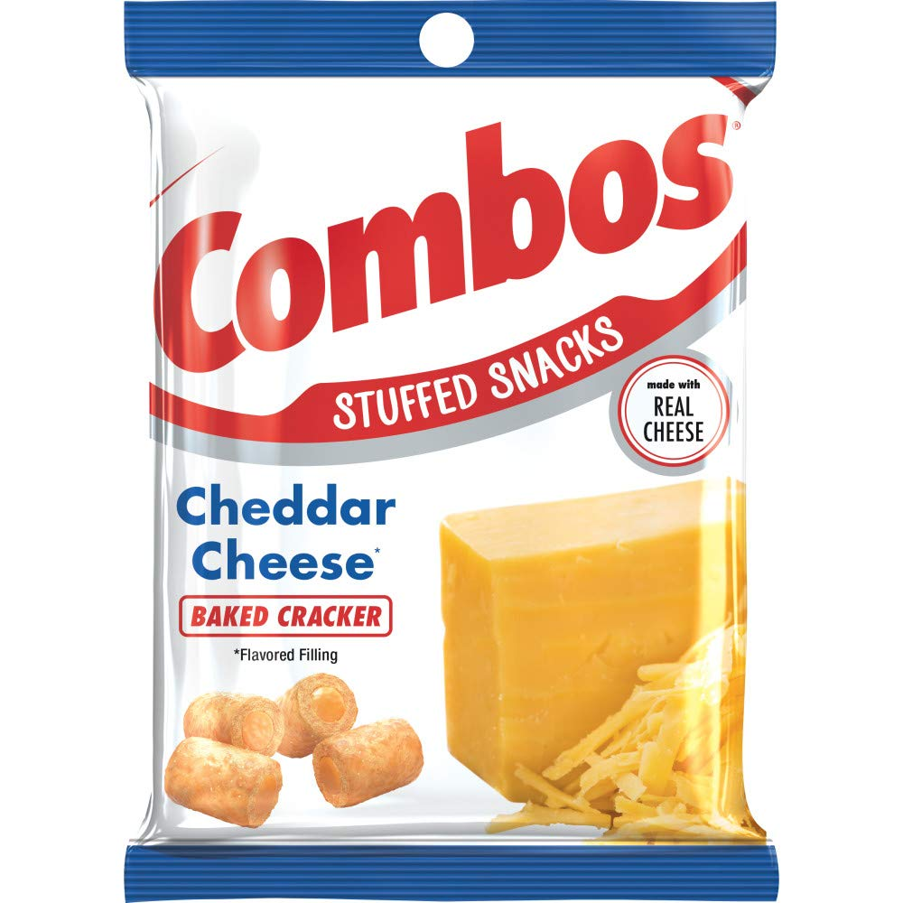 COMBOS CHEDDAR CHEESE X178.6GR