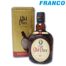 GRAND OLD PARR WHISKY 12 AÑOS X750ML