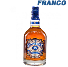 CHIVAS REGAL WHISKY 18AÑOS X750ML