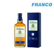 BALLANTINES 12 AÑOS WHISKY X750ML
