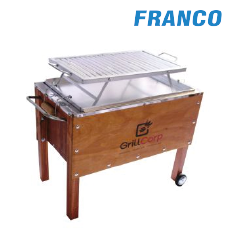 CAJA CHINA MEDIANA + PARRILLA