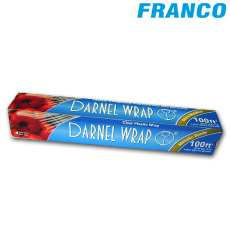 DARNEL WRAP PLASTIC 100FT