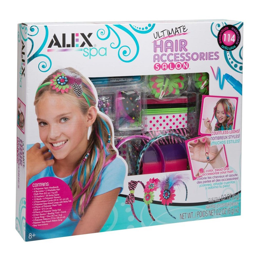 ALEX SPA ULTIMATE HAIR ACCESOR.DE SALON X UND 722X