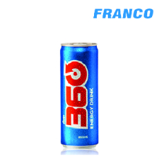 ENERGY DRINK 360 LATA X355ML