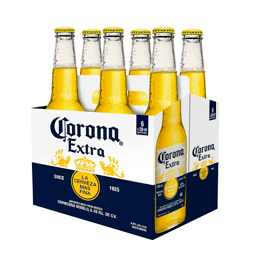 CORONA CERVEZA 355ML SIX PACK