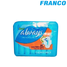 ALWAYS PROTECCION TOTAL MALLA SECA X 8UND