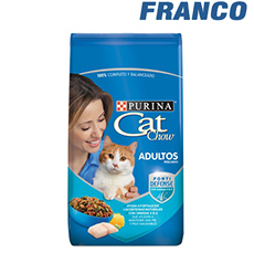 CAT CHOW HOGAREÑOS DEL / AVE X 1KG