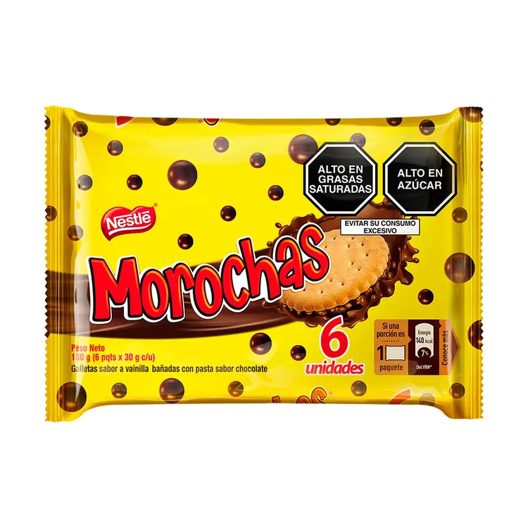 NESTLE MOROCHAS GALLETAS SIX PACK