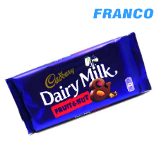 CADBURY DAIRY MILK FRUIT&NUT CHOCOLATE X200G
