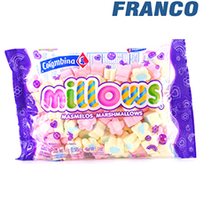 COLOMBINA MILLOWS MASMELOS MARGARITAS X145GR