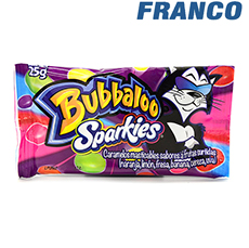 BUBBALOO SPARKIES X 25G