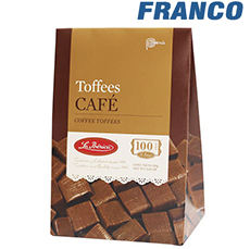 LA IBERICA TOFFEES CAFE X150GR