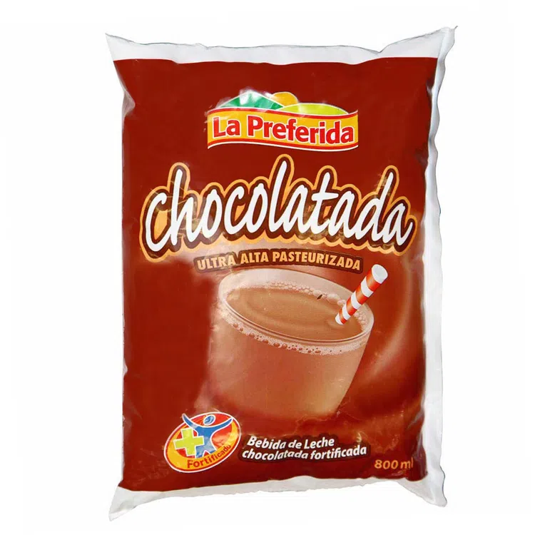 LA PREFERIDA BEBIDA DE LECHE SABOR CHOCOLATE X 800 ML