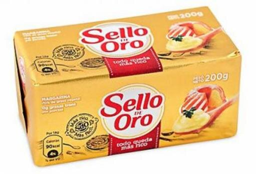 SELLO DE ORO MARGARINA BARRA X200GR