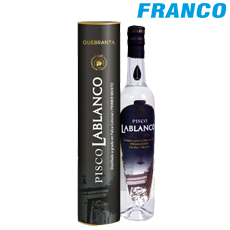LABLANCO PISCO QUEBRANTA X 750 ML.BT  750.00 ML