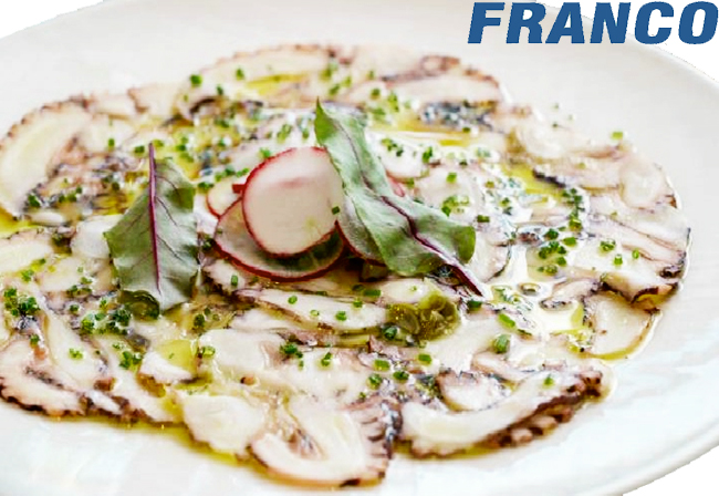 AQP FOOD CARPACCIO DE PULPO 100GR