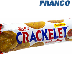 COSTA CRACKELET SNACK ORIGINAL X50G