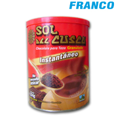 SOL DEL CUSCO CHOCOLATE INST. X324GR***