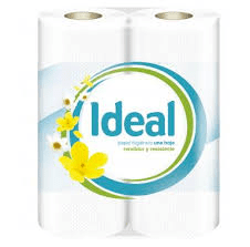IDEAL PAPEL HIGIENICO 1HOJA X 6+1 UND  3103--2018