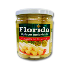FLORIDA CORAZON DE PALMITOS X430GR