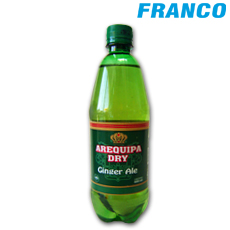 AREQUIPA DRY GINGER ALE X600ML