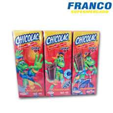 CHICOLAC X 180 ML SIX PACK