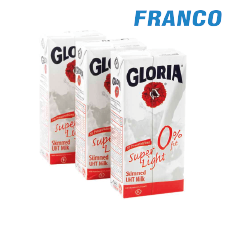 GLORIA LECHE ENTERA SUPER LIGHT H23 X1 LT. TRIPACK TTP.