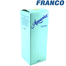 AQUARIUS COLONIA X50ML + JAB.X180GR CJ