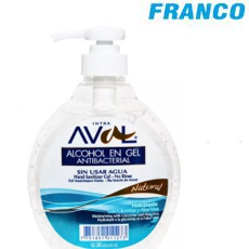 AVAL HAND GEL NATURAL X 380ML