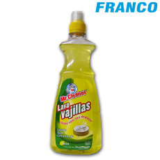 MR.CLEANER LAVA VAJILLAS LIMON X550ML