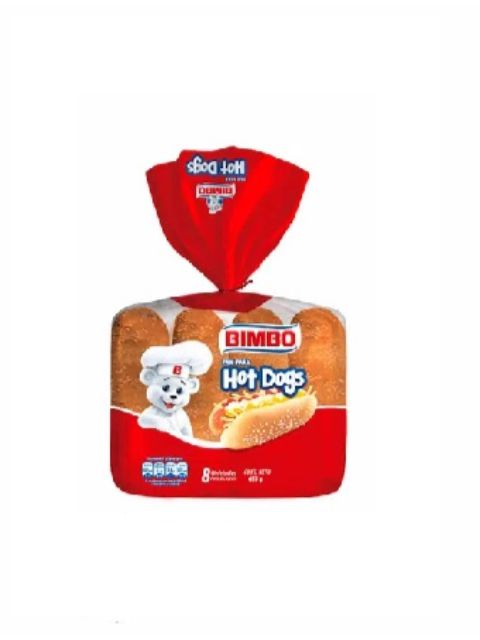 BIMBO PAN HOT DOG X 453GR