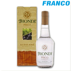 BIONDI PISCO ACHOLADO X 500 ML