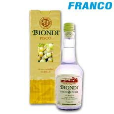 BIONDI PISCO ALBILLA X 500 ML-CJ