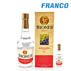 BIONDI PISCO ACHOLADO X500 + 50ML CJ