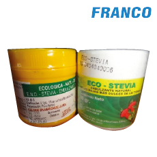 ECO NATURAL STEVIA LIFE ENDULZANTE NATURAL X 50 G
