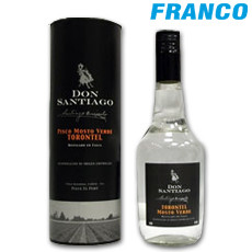 DON SANTIAGO PISCO TORONTEL X500ML