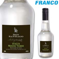 DON SANTIAGO PISCO ITALIA MOSTO VERDE X500ML