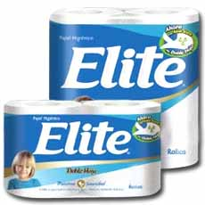 ELITE DOBLE HOJA PAPEL HIGIENICO X24PZ