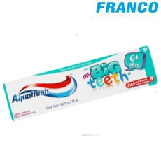 AQUAFRESH BIG TEETH X 75 ML