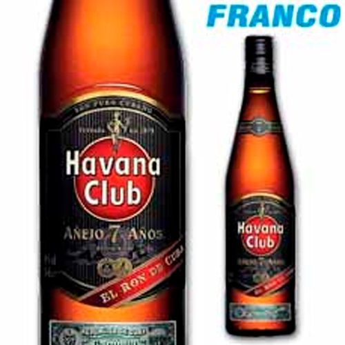 HAVANA CLUB RON 7 AÑOS X750ML