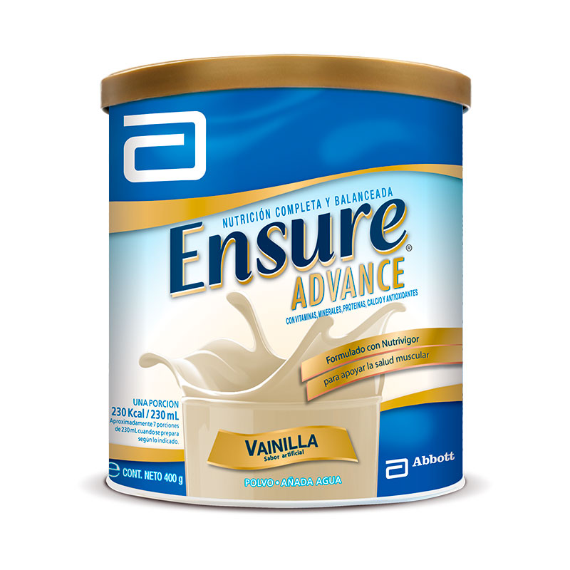 ENSURE ADVANCE VAINILLA X400G